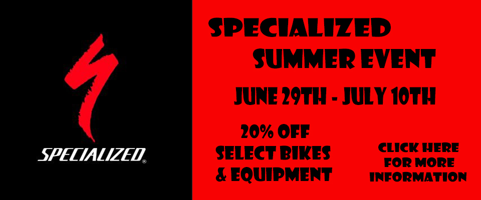 2017 SPECIALIZED SUMMER EVENT BANNER